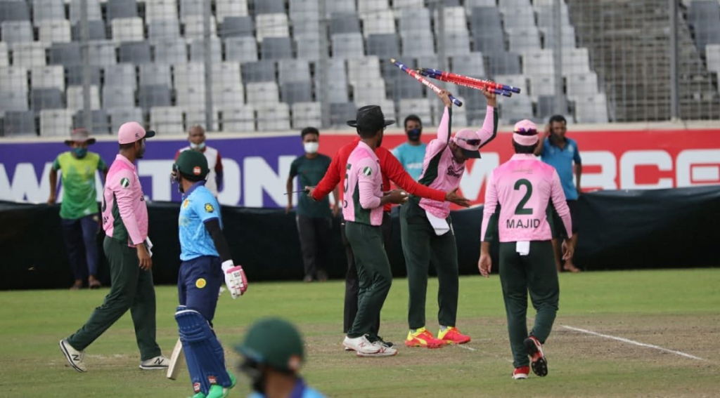 Shakib's disgraceful conduct in a local match stuns world cricket