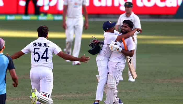 Ind v Aus Test series 2021 wins the ICC's contest as the best test series of all time.