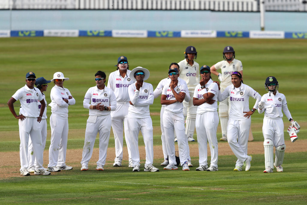 Eng W v Ind W 1st Test: Late surge by Indian bowlers restrict Eng to 269/6 on day 1