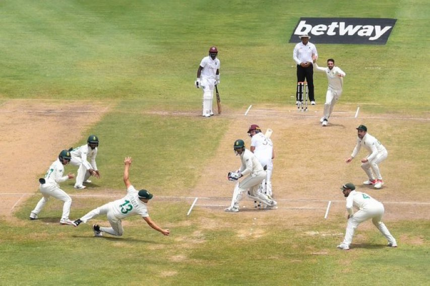 Twitter erupts as Keshav Maharaj gets 1st hattrick ever in a 4th innings of a test