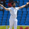 Video shared of Bumrah uprooting stumps in West Indies 2019