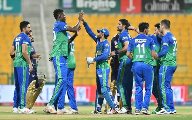 Multan Sultans canter to a comfortable win in the PSL6 final