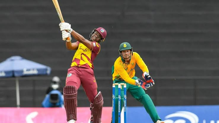 WI v SA 1st T20I: Evin Lewis special sinks the Proteas