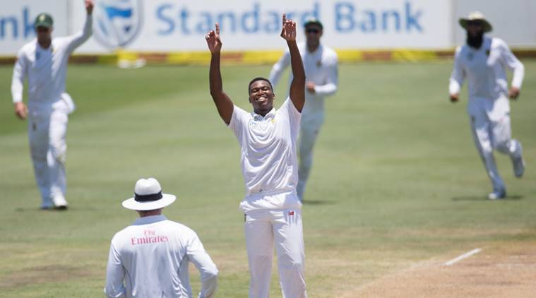 SAF v WI 1st test: Nortje and Ngidi blow away West Indies for 97