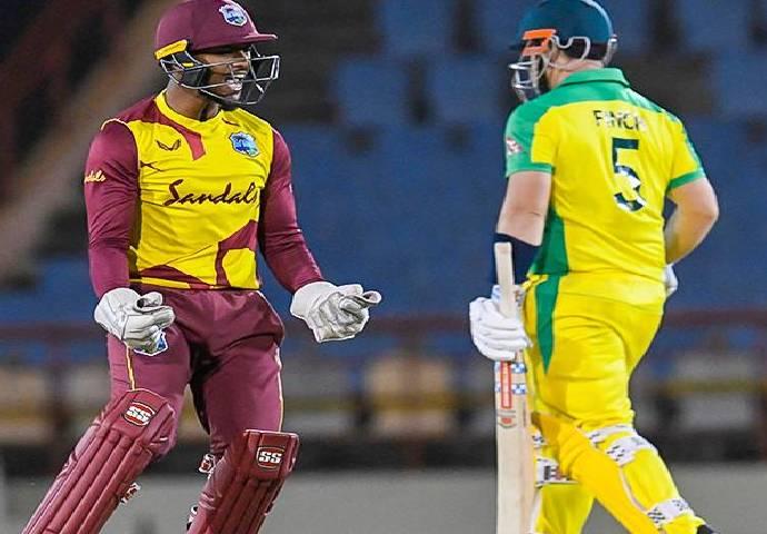 Kieron Pollard slammed the pitch after losing the ODI series to Australia