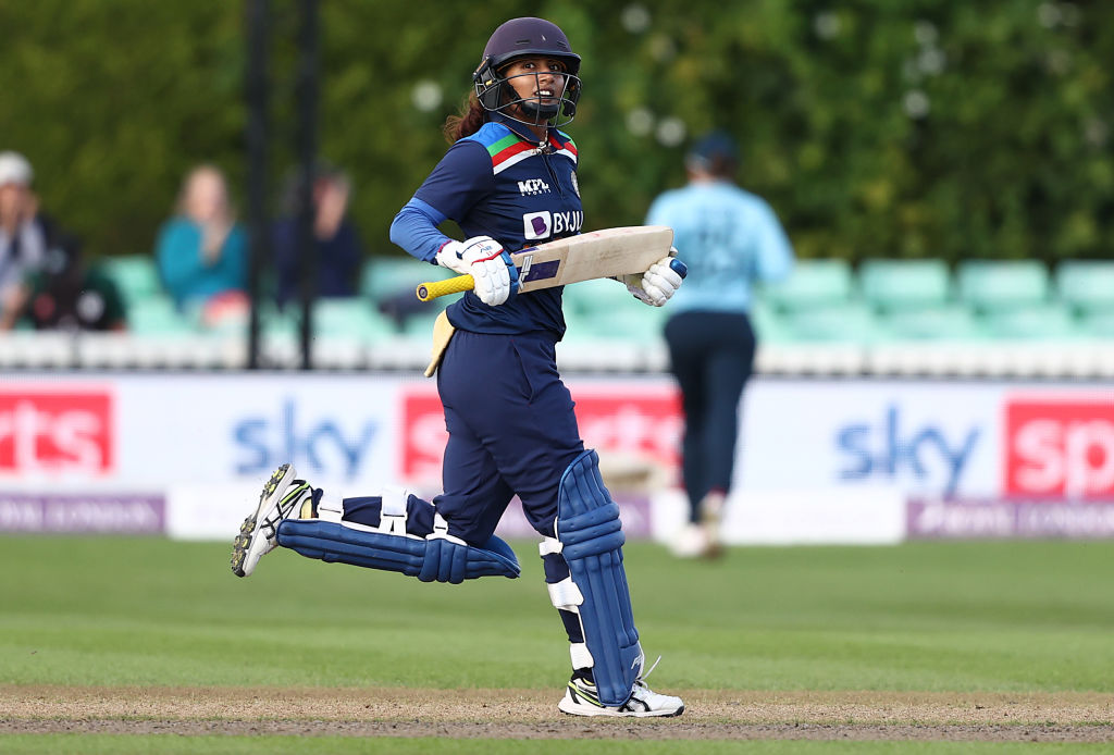 EngW v IndW ODI : Mithali (75*) steers India to a crucial win