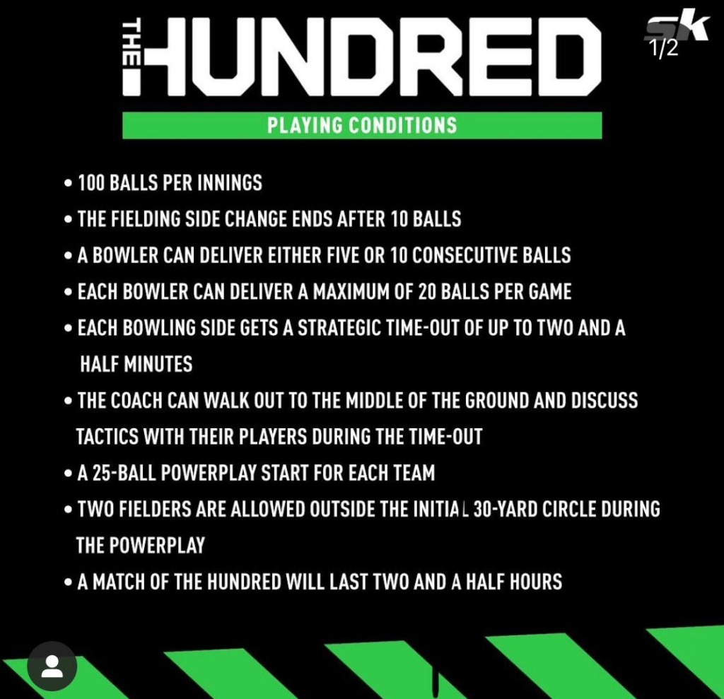 """""""The hundred"""" format has kicked off in England"""
