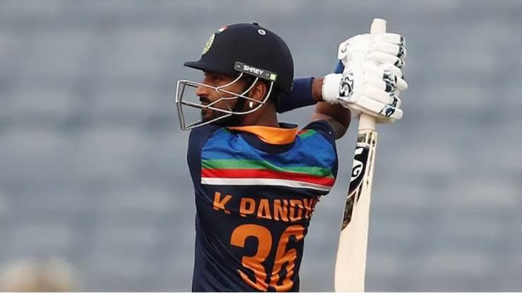 Krunal Pandya tested covid positive