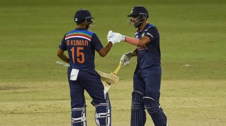 Deepak Chahar's (69*) sensational batting takes India to an epic win