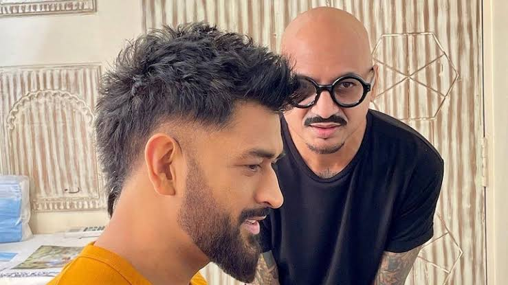 MS Dhoni's new hairstyle is breaking theTwitter