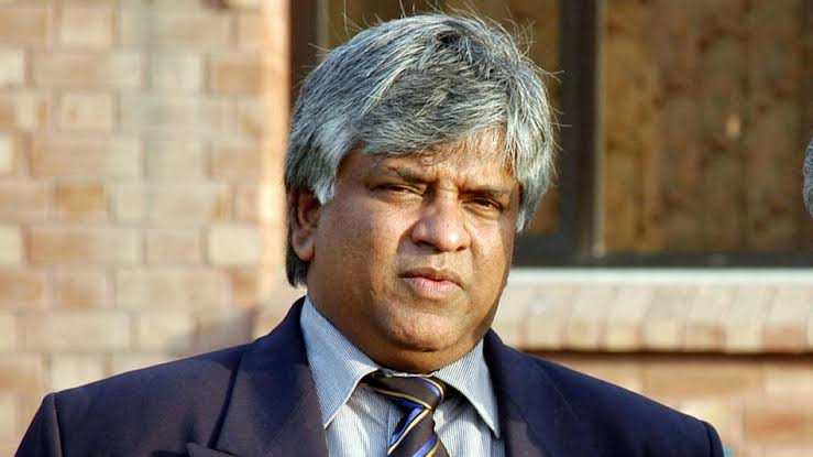 "Ranatunga lebels the Indian squad touring Sri Lanka as ""2nd level team"""