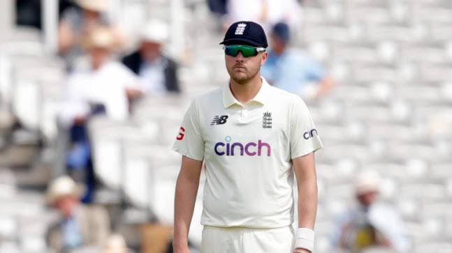 Ollie Robinson cleared to play for England with immediate effect