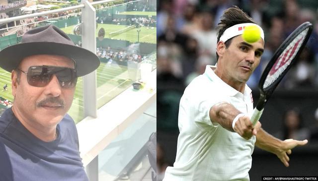 Ravi Shastri's Wimbledon picture invites sarcastic trolls from fans
