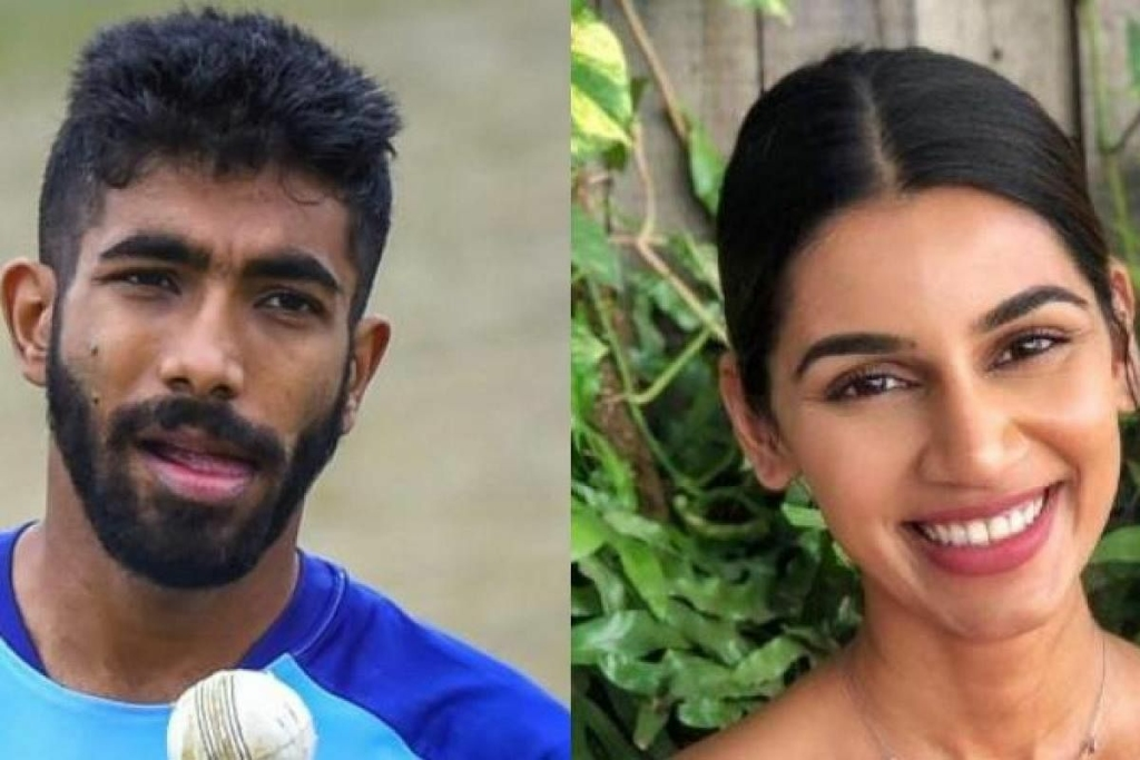 Bumrah's wife Sanjana elated at seeing bowler's name on honors board