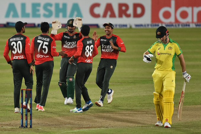 Bangladesh wins 1st ever bilateral series vs Australia in 3rd T20I