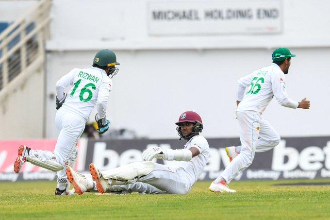 Braithwaite & Holder helps West Indies to take 1st innings