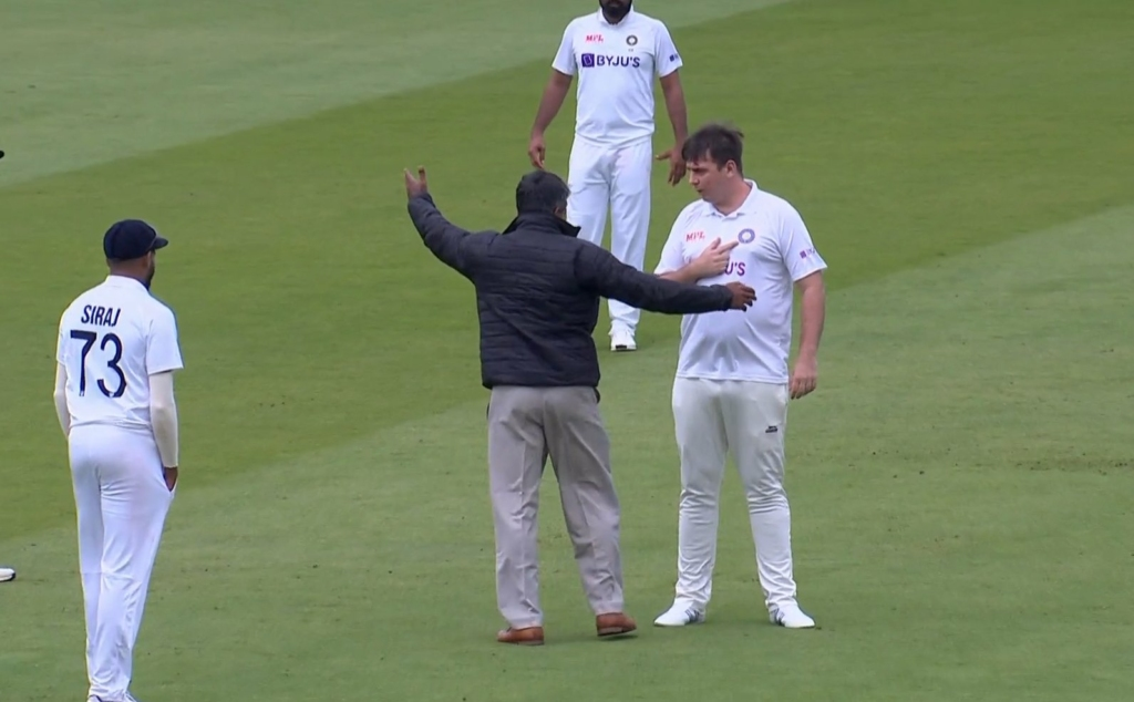 Jarvo'sTeam India moment at Lords