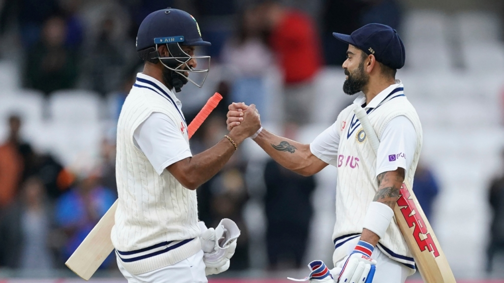 Ind v Eng 3rd Test: Pujara & Rohit leads India fightback