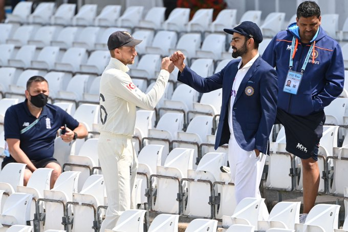 Ind v Eng 1st Test:5th day's play washed out by rain
