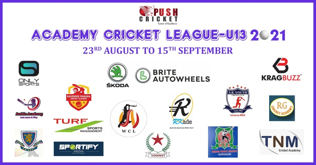 Push Academy League Under-13 Tournament Begins From 23 Aug 2021