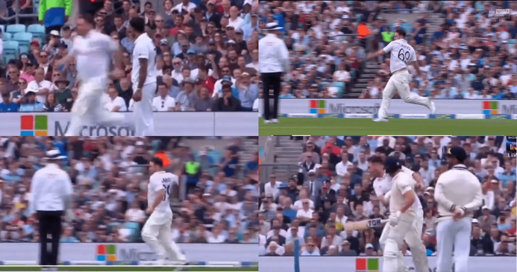 Jarvo causes havoc yet again & collides with Bairstow at Oval