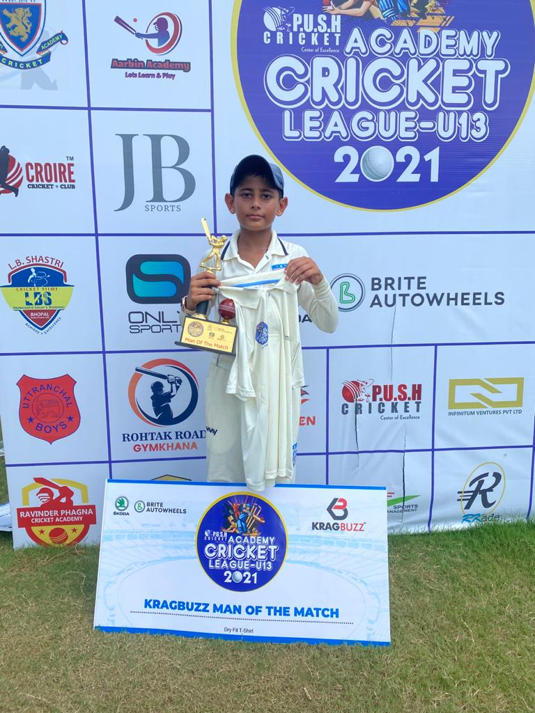 Dream Chasers U-13 wins over SB YOUTH U-13 in Push Academy Cricket League U-13