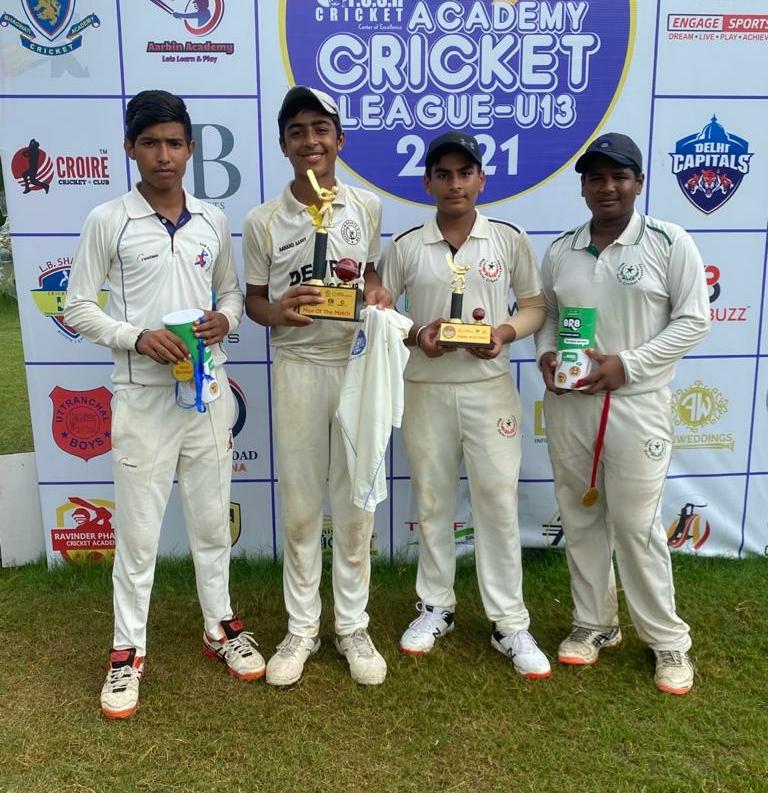 Tanmay Singh shines in Push Academy Cricket League U-13 2021