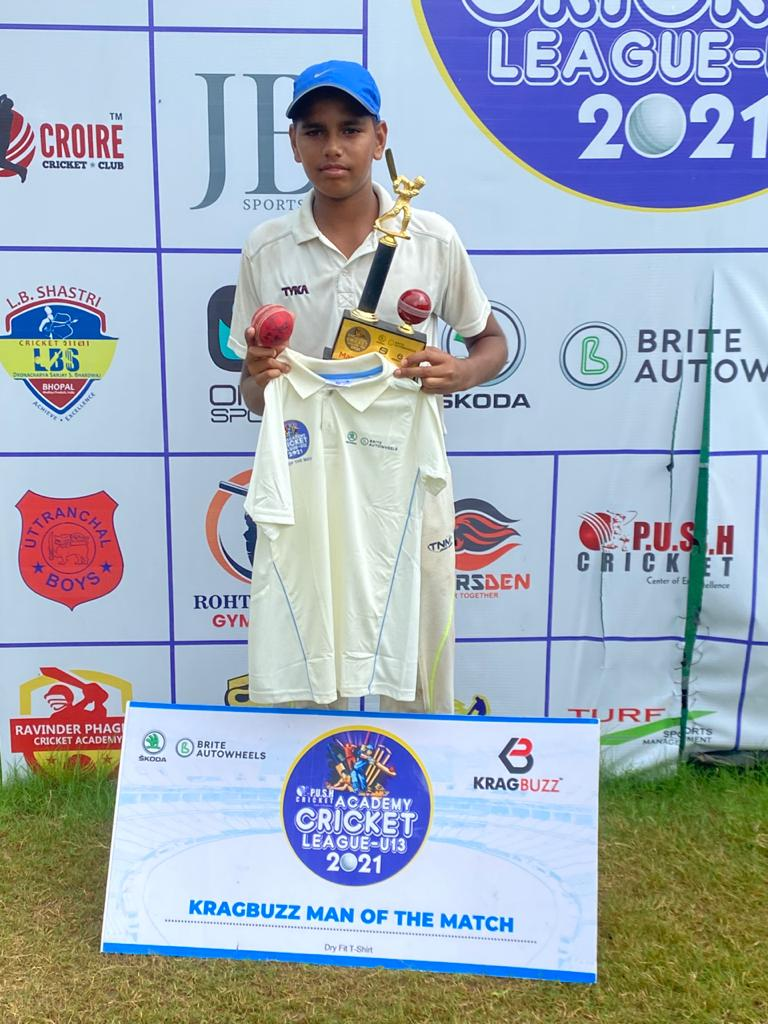 Bhagwati Cricket Academy bowled out by Shantanu Yadav