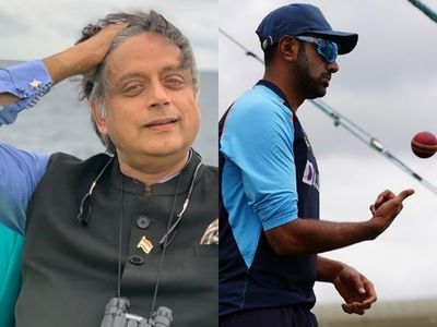 """India leaves out Ashwin again in a test : """"Death wish"""" says Shashi Tharoor"""