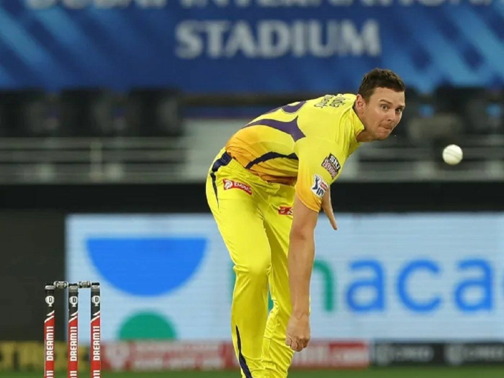 Josh Hazlewood has joined the CSK camp in UAE