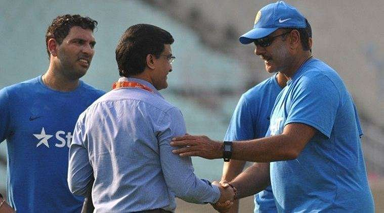Sourav Ganguly reacts to Shastri's comments