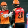 Roy, Williamson powers SRH to emphatic over Rajasthan Royals. Warner dropped from XI